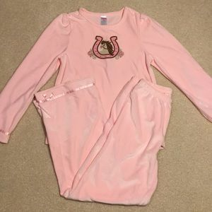 NWOT Gymboree velour outfit